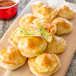 Avocado Mozza Puffs