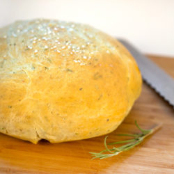 Rosemary Olive Oil Bread | FoodiePortal