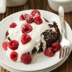 World\'s best hot fudge cake