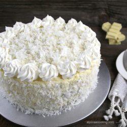 Chocolate Raffaello Cake