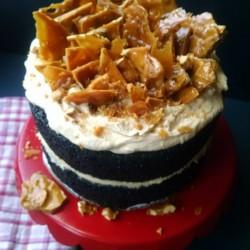Banana Devil\'s Food Cake