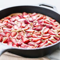 Strawberry Skillet Shortcake