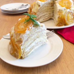 Lemon French Crêpe Cake