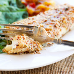 Almond Meal Crusted Cod & Fish Taco