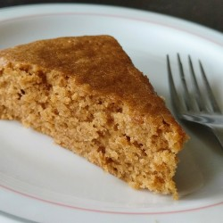 Melt-and-mix brown sugar cake