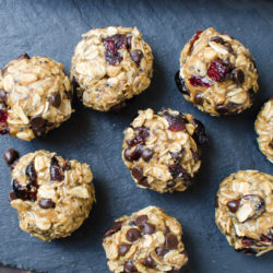 Cranberry Chip Power Balls